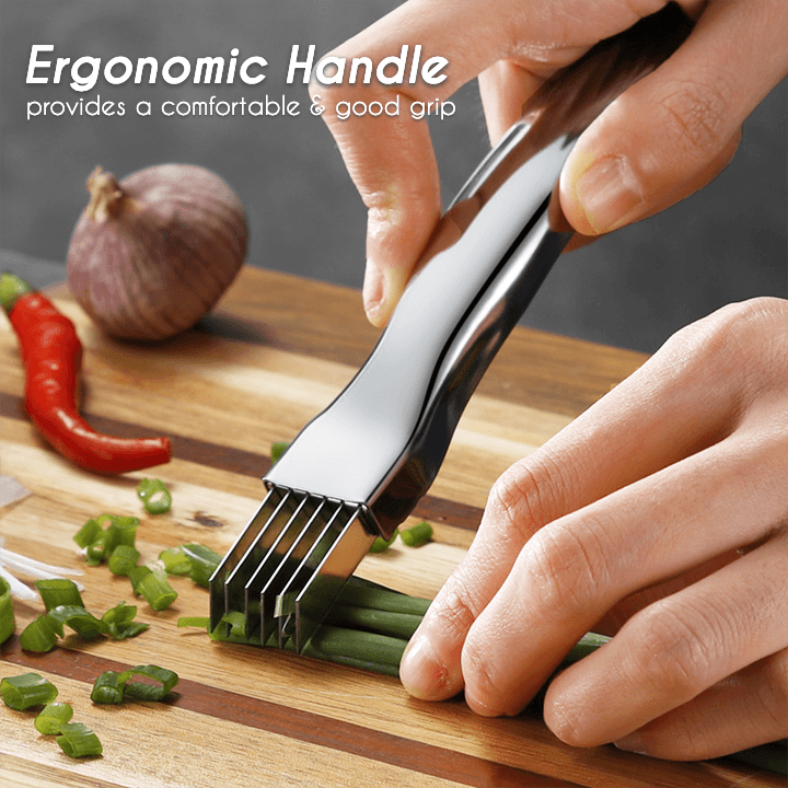 Stainless Steel Onion Shred Cutter