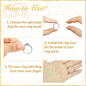 Self-Adjusting Ring Sizer (10pcs)