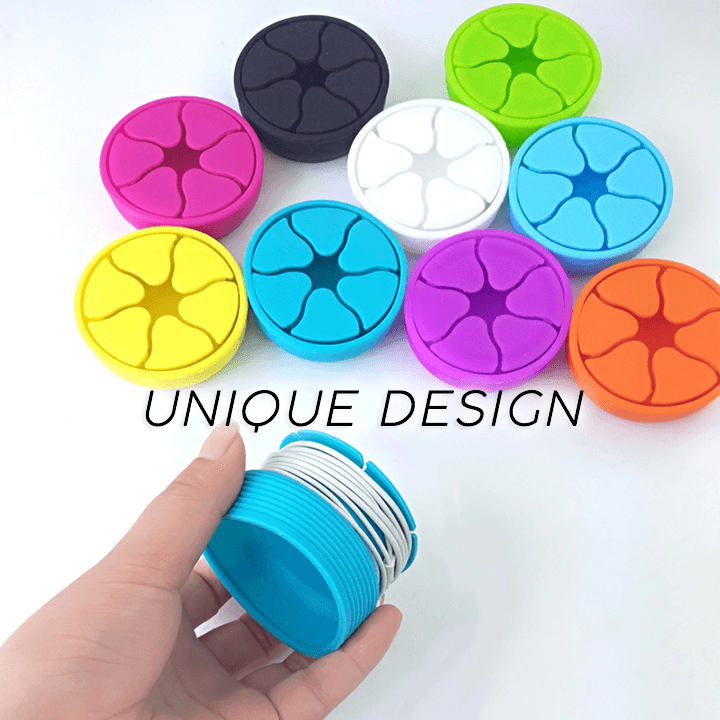 Tangle-Free Earphones Winder