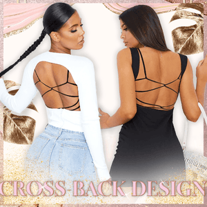 ShapeCharm Cross-Back Lace Bralet