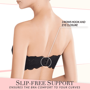 SuperFit Sexy Lace Strapless Bra