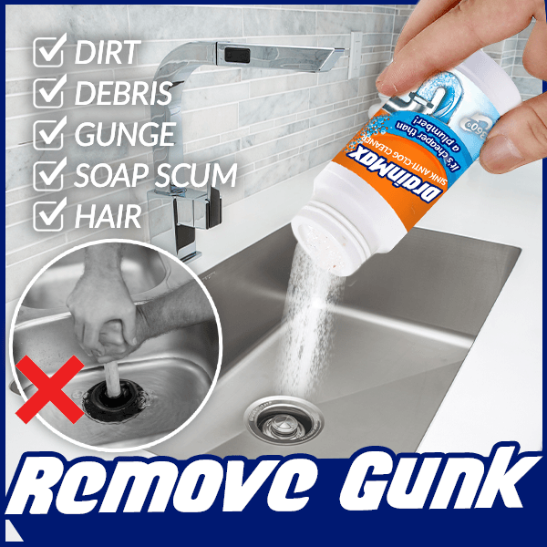 DrainMax Mighty Sink Anti-Clog Cleaner