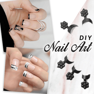 NailStudio Glue-On French Nails Kit (100 pcs)