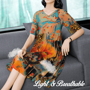 Genuine Silk Vacation Dress