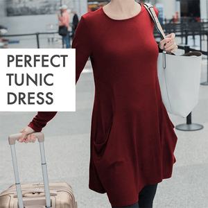 Copy of Long Sleeve Sweatshirt Travel Dress