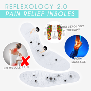 Reflexology Pain Relief Insoles 2.0