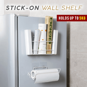 Stick-On Wall Shelf