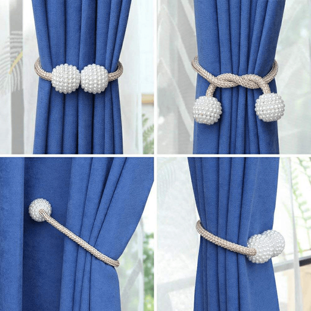 Magnetic Curtain Tieback (2PCS)