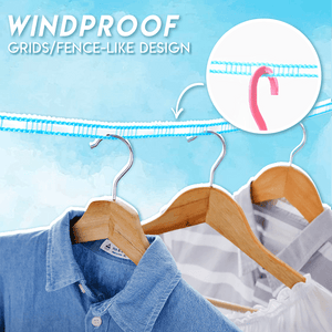 Advanced Solid Windproof Clothesline (Buy 1 Get 1 Free)