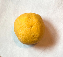 Fresh pasta dough from hand-milled grains