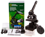 Bresser National Geographic 40x–1280x Microscope with Smartphone Holder