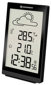 Bresser TemeoTrend ST RC Weather Station, black