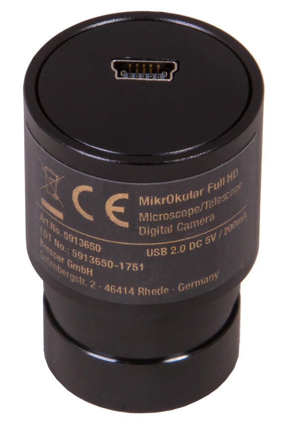Bresser MikrOkular Full HD Eyepiece Digital Camera