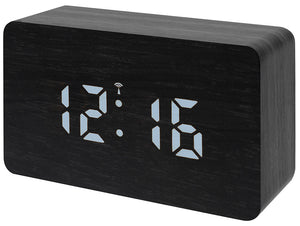 Bresser MyTime W Color LED Tabletop Alarm Clock, black