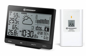 Bresser Tendence WSX Weather Station w/24h Barometric Pressure Chart