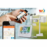 Bresser 5-in-1 Wi-Fi Weather Station with Colour Display, white
