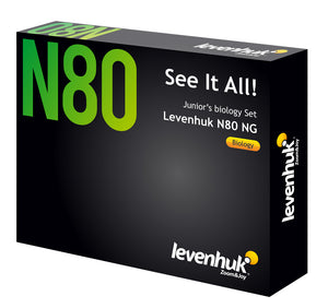 Levenhuk N80 NG ″See it all″ Slides Set