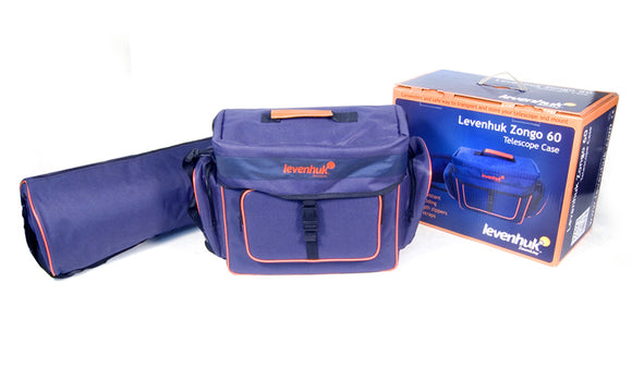 Levenhuk Zongo 60 Telescope Case; Small, Blue
