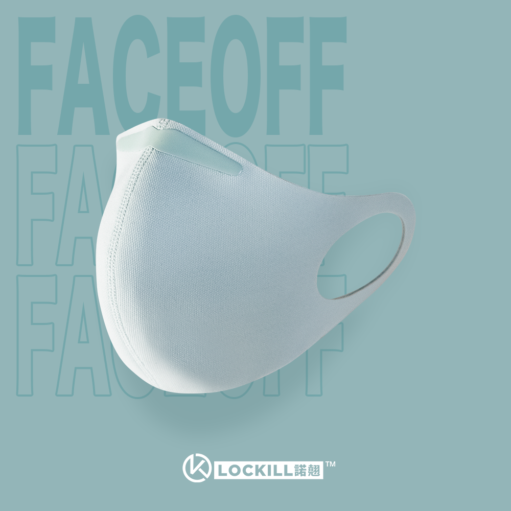 Lockill FaceOff丨Washable and Reusable Facewear