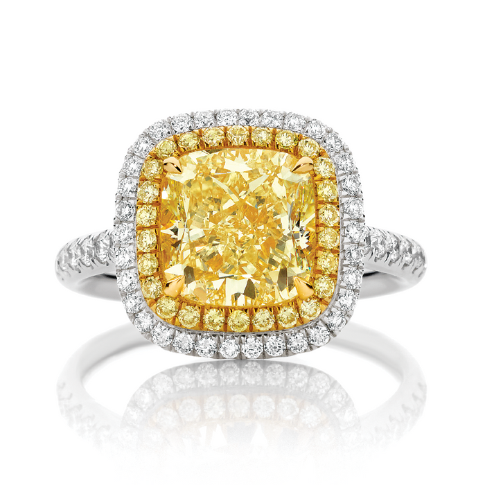 Yellow Diamonds: Rarity For Your Engagement Ring