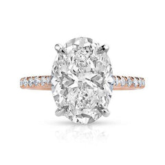 Oval Allegra Engagement Ring