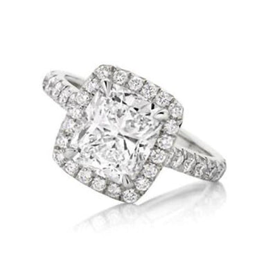 Amor Cushion Engagement Ring - Armans Fine Jewellery