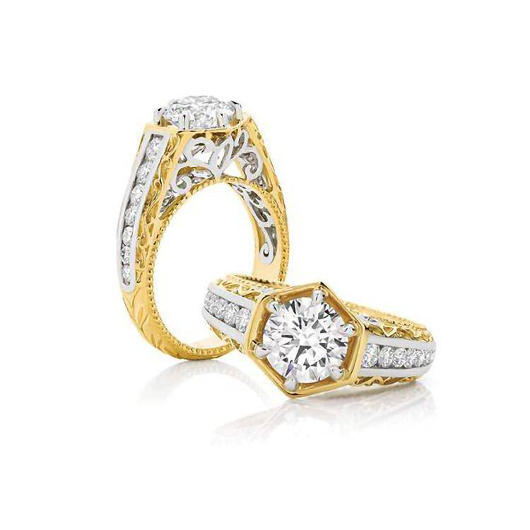Belle Engagement Ring - Armans Fine Jewellery