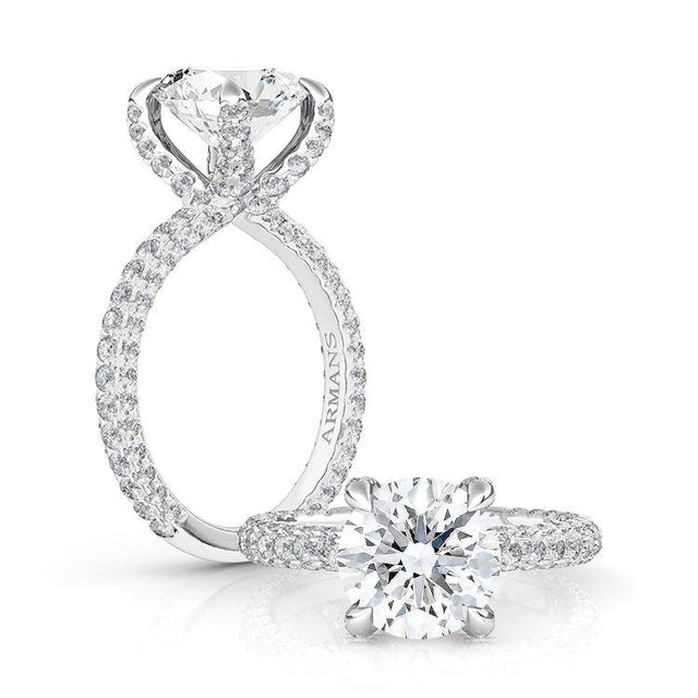 Cloud Nine Diamond Engagement Ring - Armans Fine Jewellery