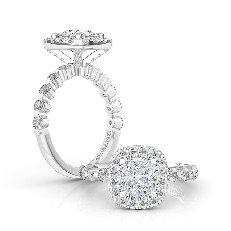 Diamond Sky Engagement Ring