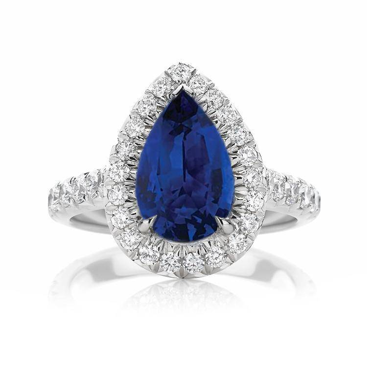 Melanie Sapphire Engagement Ring - Armans Fine Jewellery