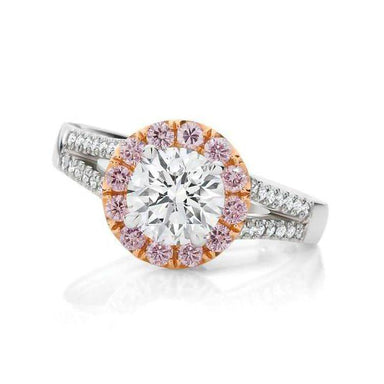 Magenta Engagement Ring - Armans Fine Jewellery