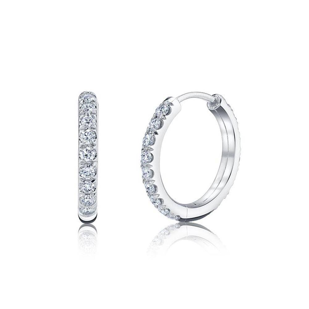Mia Diamond Huggies - Armans Fine Jewellery