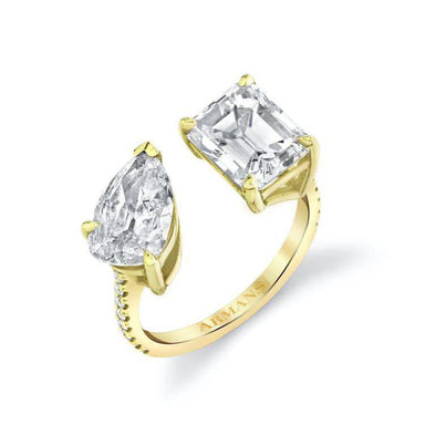 Mila Two Stone Engagement Ring - Armans Fine Jewellery