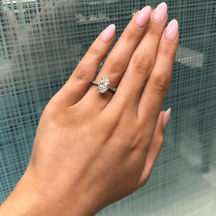 Oval Allegra Engagement Ring - Armans Fine Jewellery