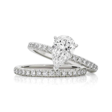 Pear Allegra Engagement Ring - Armans Fine Jewellery