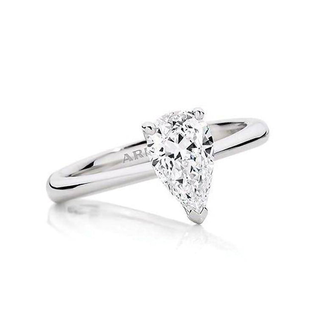 Pear Allure Engagement Ring - Armans Fine Jewellery