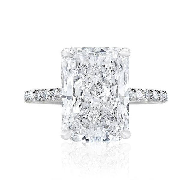 Radiant Allegra Engagement Ring - Armans Fine Jewellery