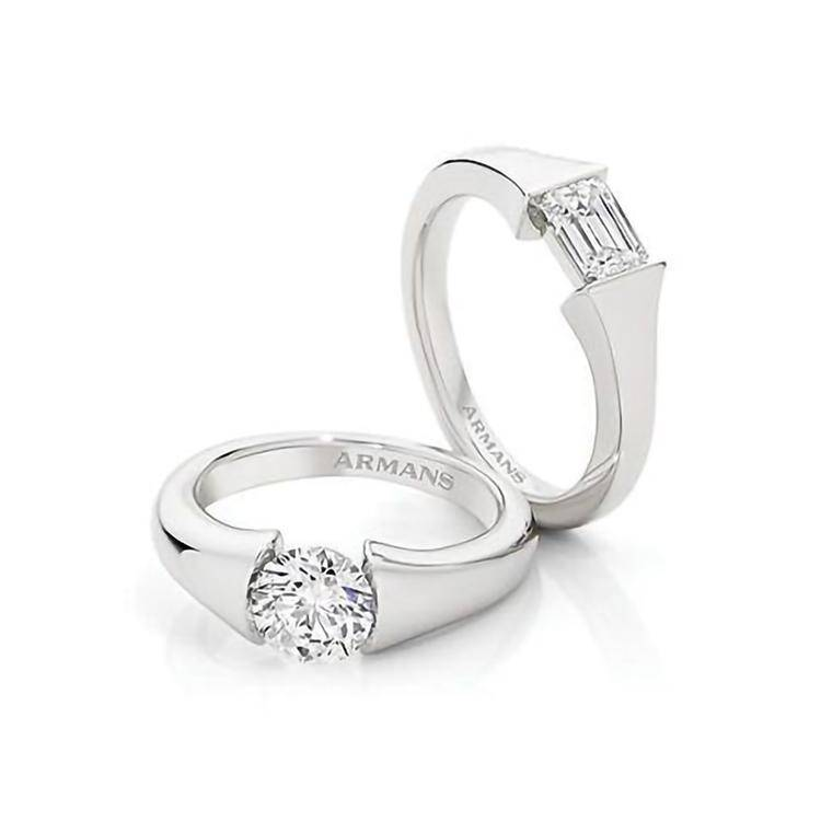 Angel Engagement Ring - Armans Fine Jewellery