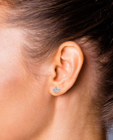 Round Diamond Studs - Armans Fine Jewellery