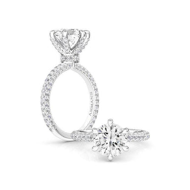 Snowball Engagement Ring - Armans Fine Jewellery