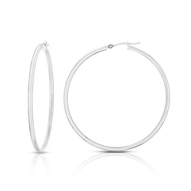 Solid Gold Hoop Earrings - Armans Fine Jewellery