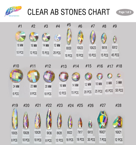 Clear AB Stones 1