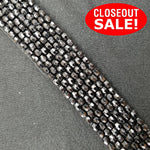 CLOSEOUT! 5 yards Black Beaded Trim , COT-103