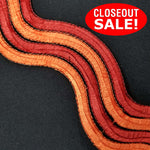 CLOSEOUT! 5 yards Wave Embroidered Trim , Available in 4 Different Colors , COT-123