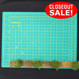 CLOSEOUT! 5 yards Green Faux Fur Pom-pom on Faux Suede Tape Trim , COT-139