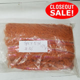 CLOSEOUT! 5 yards Pink AB Sequins Trim Edge Orange Yarn Fringe , COT-140
