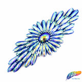 Color AB Beaded Stone Applique, NAS-03