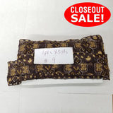 CLOSEOUT! 5 yards Brown and Gold Embroidered Beaded Trim , COT-006