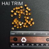 5mm Rounded Spike Iron On Studs, K-090