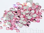 Light Rose - Preciosa Flatback Rhinestones